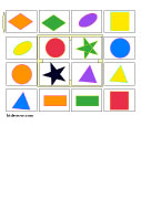 colors shapes bingo